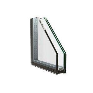 Dubbelglas met gelaagd glas